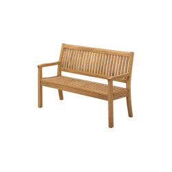 Kingston 133cm Bench | Bancos | Gloster Furniture GmbH