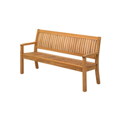 Kingston 166cm Bench | Garden benches | Gloster Furniture