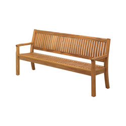Kingston 192cm Bench | Bancos de jardín | Gloster Furniture GmbH