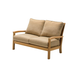 Kingston Deep Seating 2-Seater Sofa | Sofás de jardín | Gloster Furniture