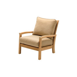Kingston Deep Seating Armchair | Poltrone da giardino | Gloster Furniture