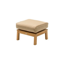 Kingston Deep Seating Ottoman | Garden stools | Gloster Furniture