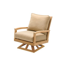 Kingston Deep Seating Swivel Rocker | Garden armchairs | Gloster Furniture
