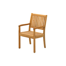 Kingston Dining Chair with Arms | Sièges de jardin | Gloster Furniture
