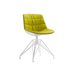 Flow chair | Visitors chairs / Side chairs | MDF Italia