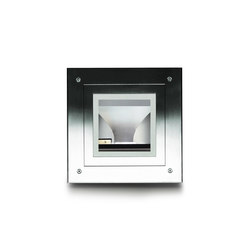 Ring quadrata | Lampade outdoor incasso pavimento | Simes