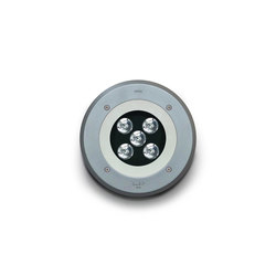 Zip round LED | Outdoor recessed floor lights | Simes