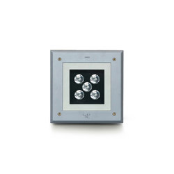 Zip square LED | Outdoor recessed floor lights | Simes