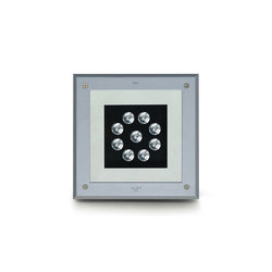 Megazipg square LED | Outdoor recessed floor lights | Simes