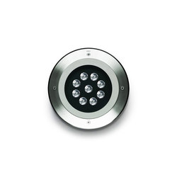 Megazip round LED | Outdoor recessed floor lights | Simes
