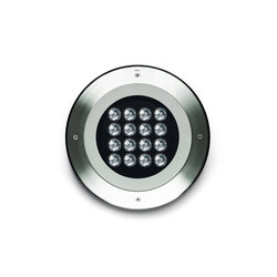 Compact round 370 LED | Outdoor recessed floor lights | Simes