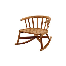Windsor Rocking Chair | Garden armchairs | Gloster Furniture