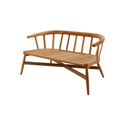 Windsor 2-Seater Sofa | Garden benches | Gloster Furniture
