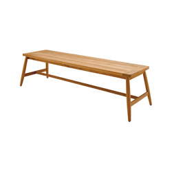 Winchester Backless Bench | Garden benches | Gloster Furniture
