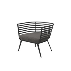 Vista Lounge Chair | Garden armchairs | Gloster Furniture
