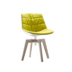 Flow chair | Conference chairs | MDF Italia