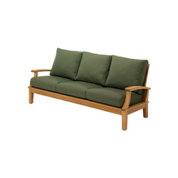 Ventura Deep Seating 3-Seater Sofa | Sofás de jardín | Gloster Furniture GmbH
