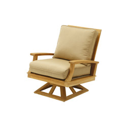Ventura Deep Seating Swivel Rocker | Garden armchairs | Gloster Furniture