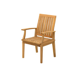 Ventura Dining Chair with Arms | Sièges de jardin | Gloster Furniture