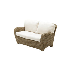 Sunset Deep Seating 2-Seater Sofa | Garden sofas | Gloster Furniture