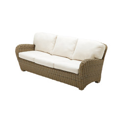 Sunset Deep Seating 3-Seater Sofa | Garden sofas | Gloster Furniture