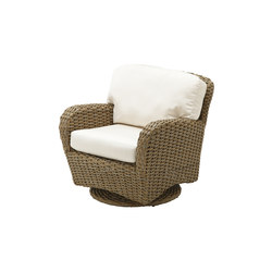 Sunset Deep Seating Swivel Glider | Garden armchairs | Gloster Furniture