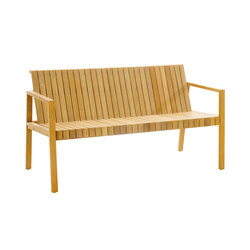 Liberty Bench with back | Garden benches | solpuri