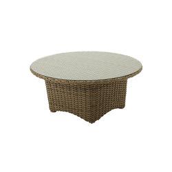 Sunset Round Conversation Table | Tables basses de jardin | Gloster Furniture
