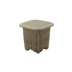 Sunset Square Side Table | Tables d'appoint de jardin | Gloster Furniture