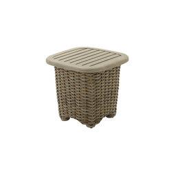 Sunset Square Side Table | Garten-Beistelltische | Gloster Furniture