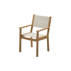 Solana Dining Chair with Arms | Sillas de jardín | Gloster Furniture
