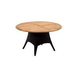 Plantation Round 5-Seater Table | Tables à manger de jardin | Gloster Furniture