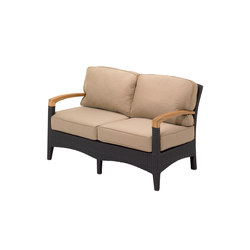 Plantation Deep Seating 2-Seater Sofa | Garden sofas | Gloster Furniture