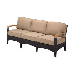 Plantation Deep Seating 3-Seater Sofa | Garden sofas | Gloster Furniture GmbH