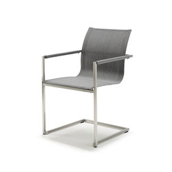 Pure Stainless Steel Spring Chair | Sillas de jardín | solpuri
