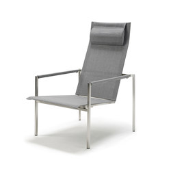 Pure Stainless Steel Deck Chair | Garden armchairs | solpuri