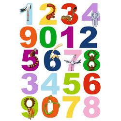 Spirit | Minifun Zahlen | Wall stickers | Hornschuch