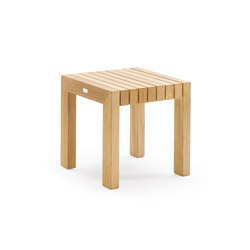 Tabulus Teak Side Table | Tables d'appoint de jardin | solpuri