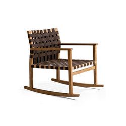 Vis à Vis Rocking chair | Sillones de jardín | Tribu