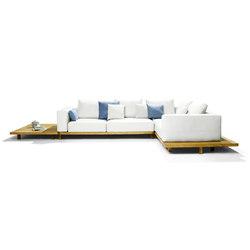Vis à Vis Sofa | Garden sofas | Tribù