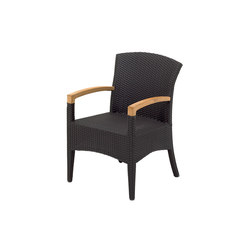 Plantation Dining Chair with Arms | Sièges de jardin | Gloster Furniture