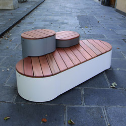 urban islands Park bench | Exterior benches | mmcité