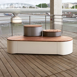 urban islands | Set of three seating units | Benches | mmcité