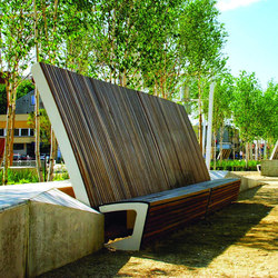 landscape Park bench | Panche da esterno | mmcité