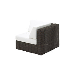 Havana Modular Right Corner Unit | Sillones de jardín | Gloster Furniture
