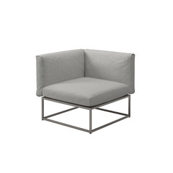Cloud 75x75 Corner Unit | Garden armchairs | Gloster Furniture