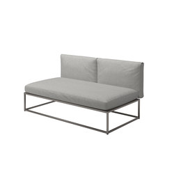 Cloud 75x150 Centre Unit | Garden armchairs | Gloster Furniture GmbH