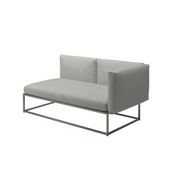 Cloud 75x150 Right End Unit | Gartensofas | Gloster Furniture GmbH