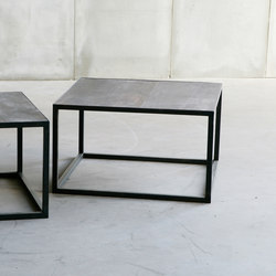 Mesa Leather coffee table | Lounge tables | Heerenhuis
