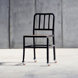 Metal Chair weels | Sillas | Heerenhuis